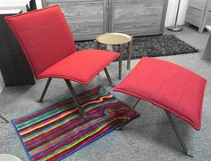 Envy Lounge Chair & Ottoman. Available at Scanhome Furnishings in Green Bay.