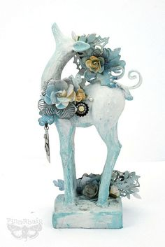 Altered Deer by finnabair, via Flickr
