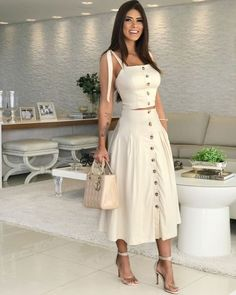 Semi Casual Outfit Women, Casual Fall Outfits, Classy Outfits, Chic Outfits, Trendy Outfits, Fashion Outfits, Semi Casual Dresses, 2 Piece Outfits, Mode Outfits