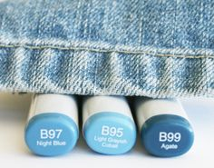 Splendid Stamping with The Greeting Farm: Coloring Jeans with Copics Tutorial Copic Marker Art, Copic Pens, Copic Art, Copic Sketch Markers, Copics, Prismacolor, Copic Color Chart, Copic Colors, Color Charts