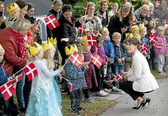 Princess Marie of Denmark attended the celebrations marking the 60th anniversary of the Epilepsy Hospital's Children Department in Dianalund on September 25, 2015.