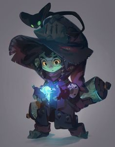 Little Wizard by nicholaskole on DeviantArt