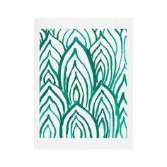 Emerald Bright Art Print