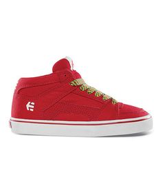 Take a look at this White & Red RVM Vulc Sneaker by etnies on #zulily today!
