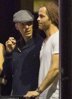 Ben and Chris after Justin Timberlake concert in London