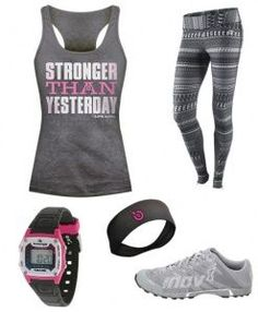 f00f0f35c7fb7 workout outfit maybe minus the pants  Love the shirt - pair our sports bra  with any workout look.