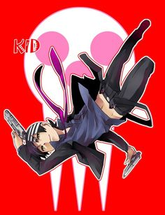 Death The Kid. Soul Eater.