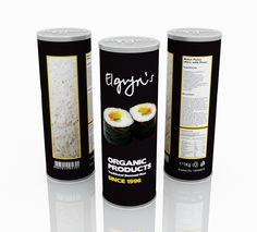 Packaging Design  Elgyn's Basmati Rice and Roselicious