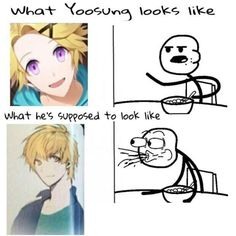 lol I like both versions <<<yeah but the second version is hotter xD