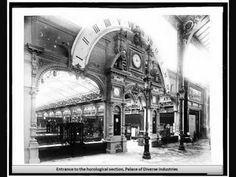 1889 Exposition Universelle de Paris - introduced the world famous monument, The Eiffel Tower