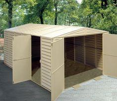 10ft Wide x 16ft Deep DuraMax All Weather PVC Vinyl Garage (10x16) - GardenSite.co.uk
