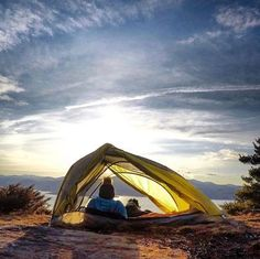 One bedroom, great location. Plenty of natural light. Pets allowed. (Photo via Instagram: laducb) L.L.Bean Microlight Backpacking Tent.