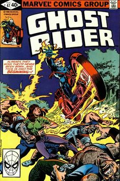 Cover for Ghost Rider (Marvel, 1973 series) #47 [Direct Edition]
