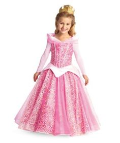 the ultimate collection aurora girls costume - Only at Chasing Fireflies - After years of living in the woods with her fairy friends, Briar Rose learns her true identity is Princess Aurora. Imagine how happy you'd be to discover you're a princess, too!