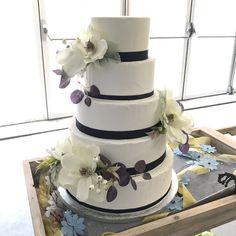 Tarta paleteada buttercream deco de orquideas Deco, Cake, Pastries, Kuchen, Decor, Deko, Decorating, Torte, Cookies