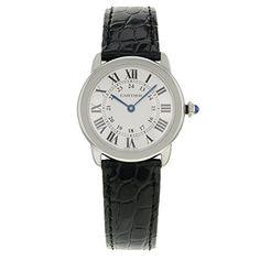 Cartier Ronde Solo W6700155Edelstahl Quarz Herren-Armbanduhr - http://uhr.haus/cartier/cartier-ronde-solo-w6700155-edelstahl-quarz
