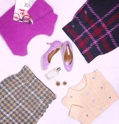deicy_official:* Love purple × beige ・ ・ #deicyosaka #deicy #mecouture #osaka #knit #skirt #color #purple #beige #check #instalike #instagood #instafashion #love #girl #happy #可愛い #ニット #ファッション #コーディネート #winter #aw #2017 #fashion #japan #デイシー #ミークチュール #est #エスト #冬 2017/12/28 22:20:11