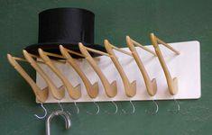 Best Garden Decorations Tips and Tricks You Need to Know - Modern Wood Coat Hanger, Wire Coat Hangers, Diy Coat Rack, Wire Racks, Clothes Hangers, Plant Hangers, Wooden Shoe Racks, Wooden Coat Rack, Wooden Hangers