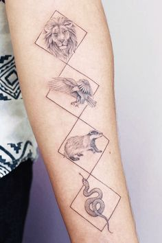23 Amazing Harry Potter tattoos you have to see! #HarryPotter #tattoo