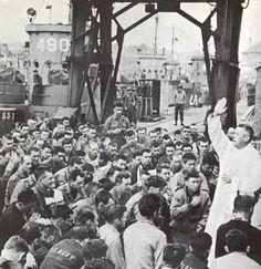 Mass celebrated before Omaha. June 1944