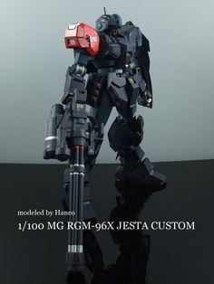 mrrobotto:  MG RGM-96X Jesta customise by hanco