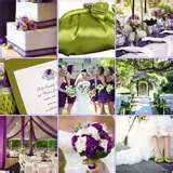 Image detail for -Inspiration Board: Beautiful Spring in Purple & Green
