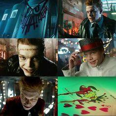 Jerome Valeska <3 Jerome Gotham, Gotham Characters, Gotham Series, Jerome Valeska, Cameron Monaghan, Arkham Asylum, Jokers, Venom, Harley Quinn