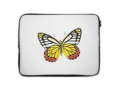 Colorful Butterfly Style 38 Laptop Sleeve Case Bag  13 Inch