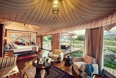 Boutique retreat Chamba Camp Thiksey lets you explore the Himalayas in luxurious style. Activities and meals are included, and you'll stay in a tricked-out tent with a mountain-view terrace and personal butler to hand.