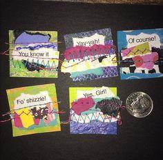 See Jane run. Project 365, Make Sense, Journal Cards, Scrap, Joy, Stitch, Creative, Journaling, Projects