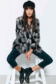Ladakh Pepe Faux-Fur Jacket