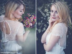 Hochzeitsinspiration: Fr�hlingshaftes Brautshooting im Bl�tenmeer