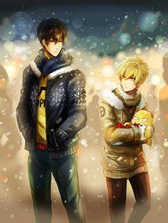 Merry Christmas! - OPM by Evil-usagi.deviantart.com on @DeviantArt