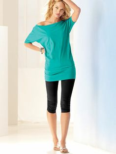 Tunic and Crop Legging