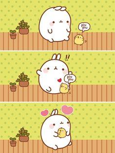 ❤  ❤  ❤ conejo kawaii