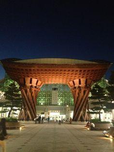 金沢駅 (Kanazawa Sta.) in 金沢市, 石川県