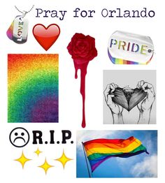 """""""Pray for Orlando"""" by outfitonpointsl on Polyvore featuring Dot & Bo, West Coast Jewelry and summerbrights"""
