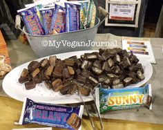 My Vegan Journal's Top 10 Vegan Moments at Natural Products Expo West 2014 <3 One of them was @amyskitchen vegan candy bars! Check out the rest! #MyVeganJournal