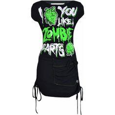 "CUPCAKE CULT ""Zombie Hearts"" mini dress - size S"