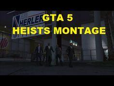 GTA 5 Heists montage (FIXED)
