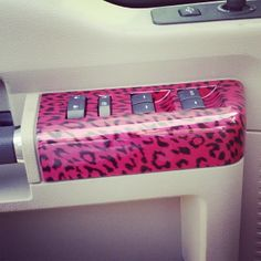 Pink Car Interior On Pinterest Pink Car Accessories Hot Pink Cars And Pink Cars