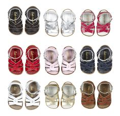 Salt-Water sandals: when she's old enough for open-toe.