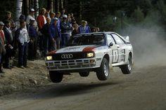 Audi Rallye-Quattro, Historie Mikkola gewann mehr Rallyes als jeder andere.
