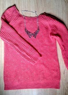 Kup mój przedmiot na #vintedpl http://www.vinted.pl/damska-odziez/swetry-z-dzianiny/10394168-cieply-sweter-w-slicznym-malinowym-kolorze