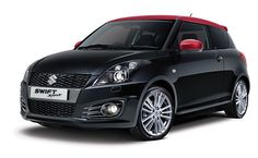 Suzuki Swift Red And Black