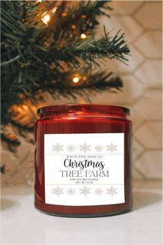 Christmas Tree Farm Candle