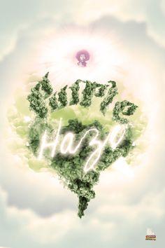 ☮ American Weed Hippie Art Quotes ~ PURPLE HAZE