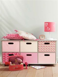 girls tv unit and storage for dvd's and wii games