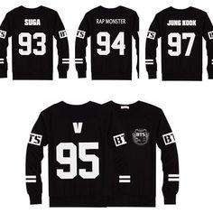 KPOP Bangtan Boys Jumper  Pullover Jersey BTS Sweater Jungkook J-Hope V Neu