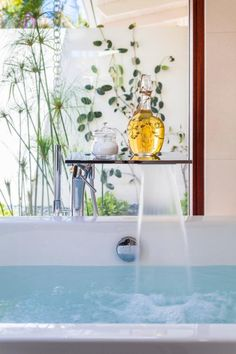 Make every day a spa day with these tips to turn your ordinary bath into a luxury retreat. >> http://www.diynetwork.com/made-and-remade/learn-it/the-perfect-bubble-bath?soc=pinterest